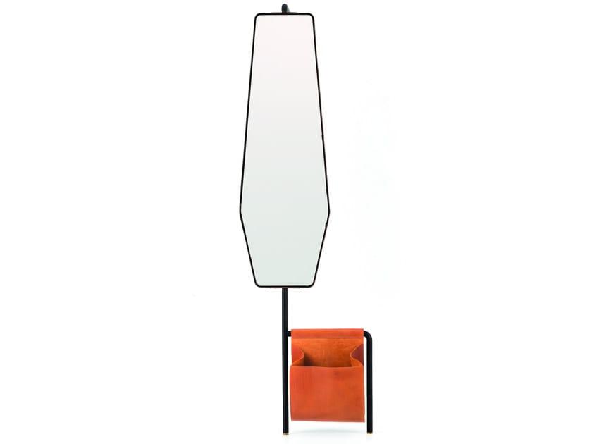 Freestanding mirror VALET STANDING MIRROR - STELLAR WORKS