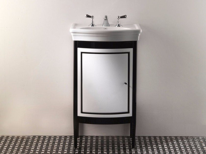 Single wooden vanity unit with doors HARRY JUNIOR | Vanity unit by Devon&Devon