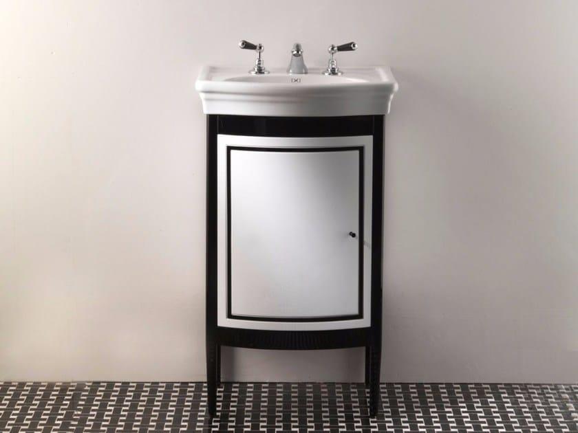 Single wooden vanity unit with doors HARRY JUNIOR | Vanity unit - Devon&Devon