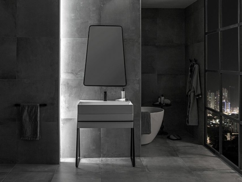 Single vanity unit PURE LINE | Vanity unit by Noken