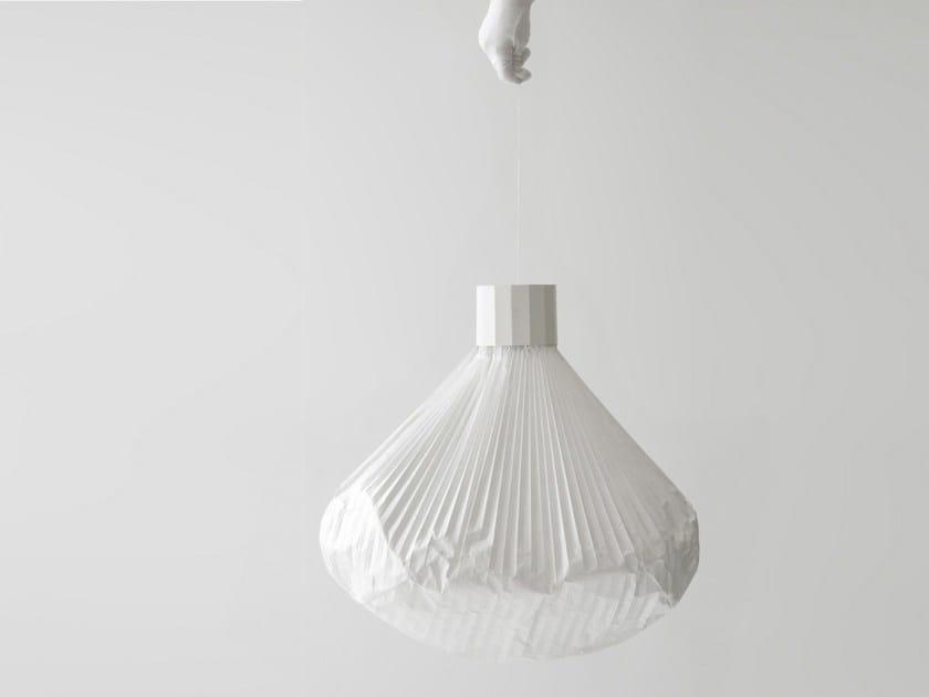 Nonwoven pendant lamp VAPEUR | Pendant lamp - Moustache