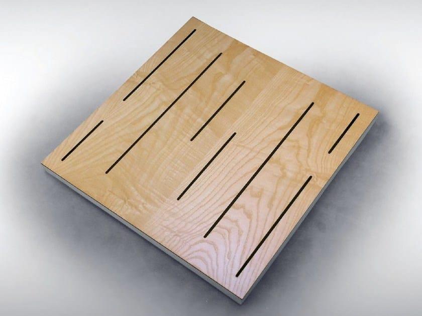 Wooden decorative acoustical panels VARI PANEL PRO TECH - Vicoustic by Exhibo