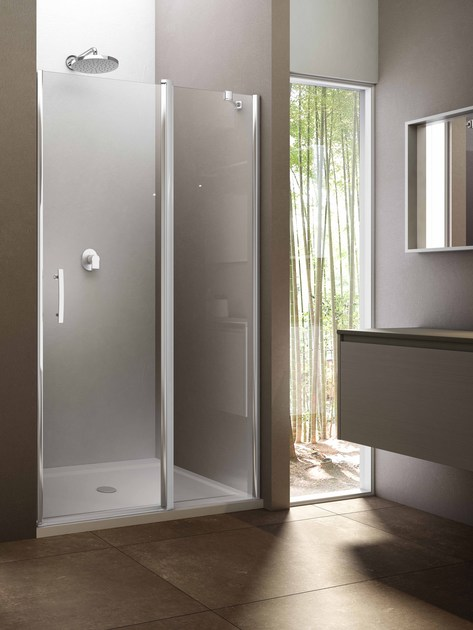 Niche glass shower cabin VARIO NV by Provex Industrie