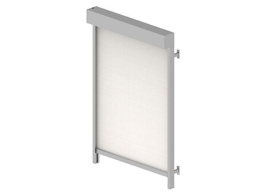 Polyester roller blind with guide system VB 507 (ZIP) | Awning by HELLA