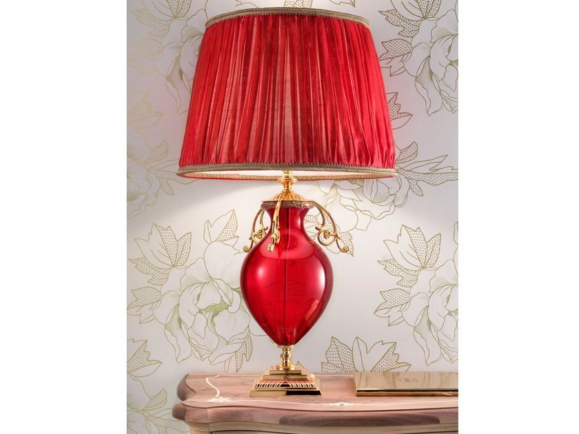 Direct light handmade incandescent Murano glass table lamp VE 1011 | Table lamp by Masiero