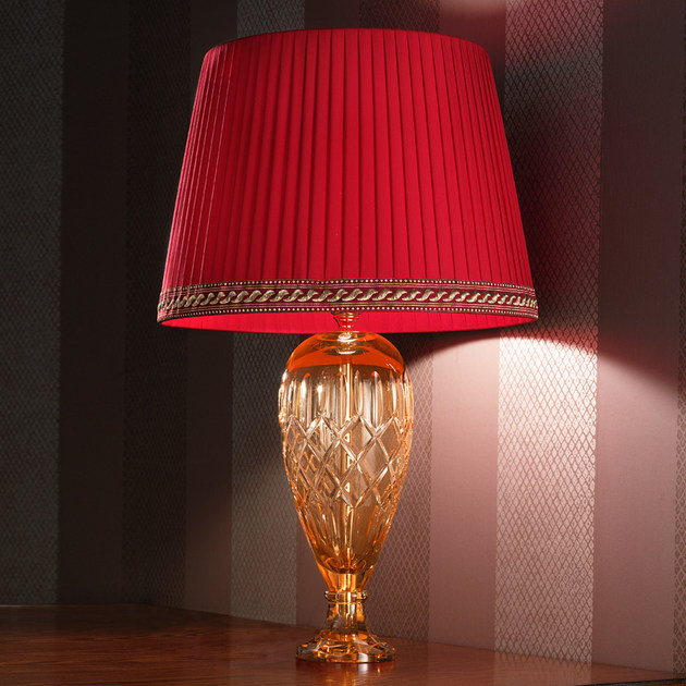 Direct light handmade incandescent Murano glass table lamp VE 1024 | Table lamp by Masiero