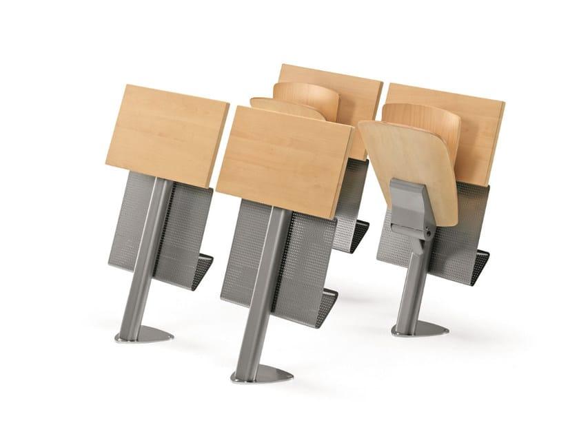 Multi-layer wood training chair VEKTA A 106 - TALIN