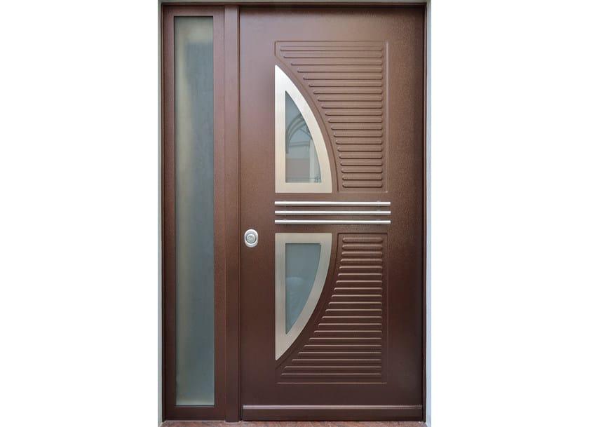 Glass and aluminium armoured door panel VELE/X2+JOLLY/XA1 - ROYAL PAT