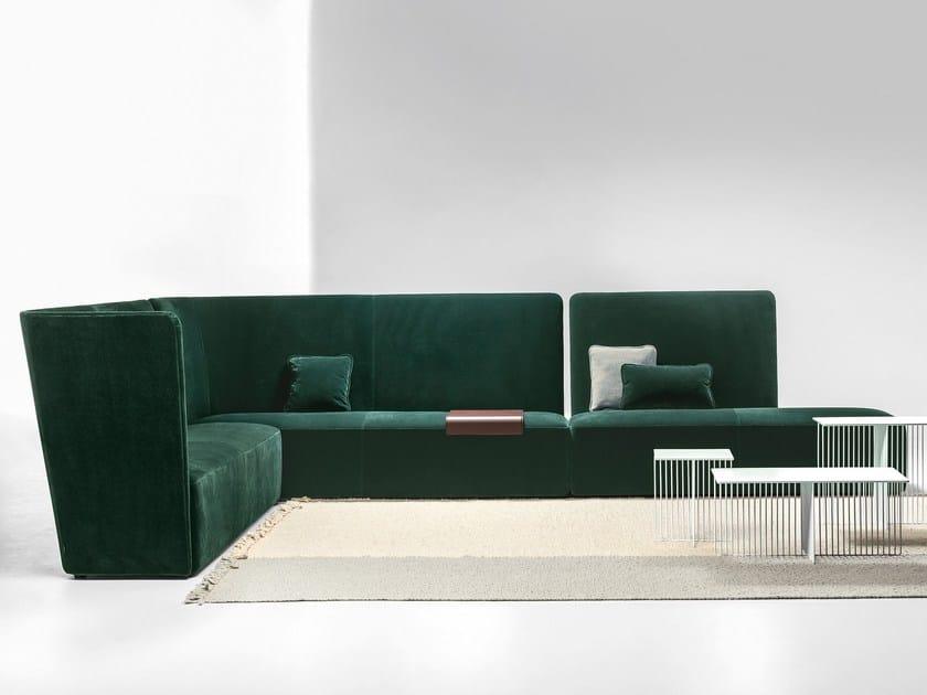 Velour divano modulare collezione velour by la cividina - Divano modulare ...