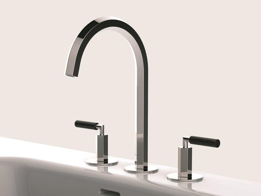 3 hole countertop washbasin tap VENEZIA | Washbasin tap - Fantini Rubinetti
