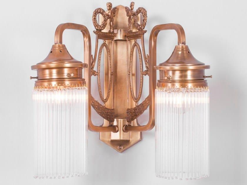 Direct light brass wall lamp VENICE II | Wall lamp - Patinas Lighting