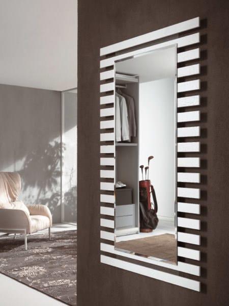 Rectangular framed mirror VENICE | Rectangular mirror - RIFLESSI
