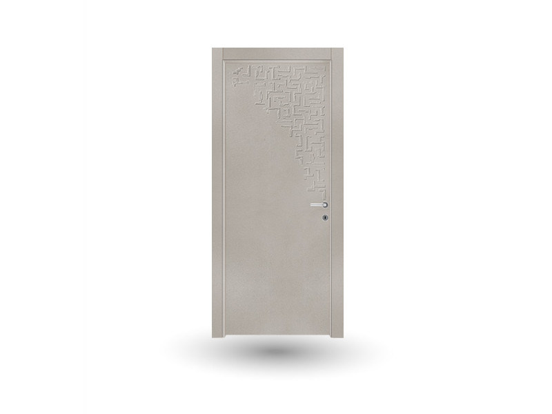 Hinged wooden door VENUS 11 SCULTURA TRAVERTINO - GD DORIGO