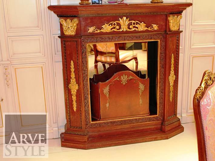 Solid wood Fireplace Mantel VENUS | Fireplace Mantel by Arvestyle
