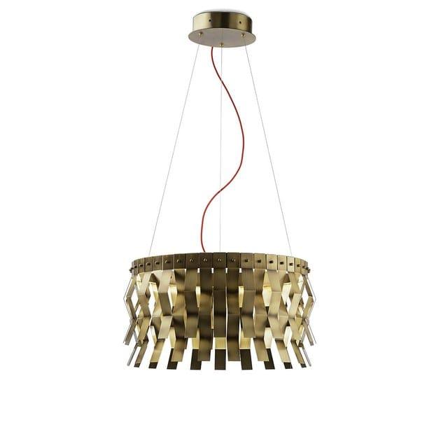 Brass pendant lamp VERONICA | Pendant lamp by MARIONI