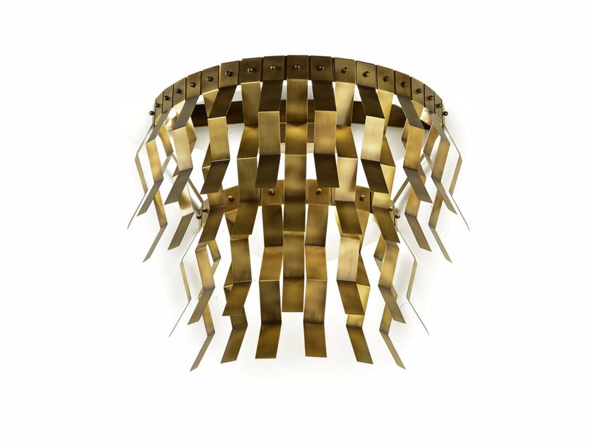 LED brass wall lamp VERONICA | Wall lamp - MARIONI
