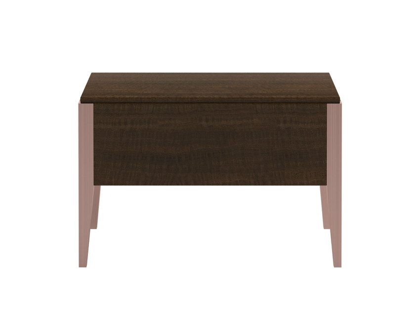 Rectangular wooden bedside table with drawers VERSUS - Capital Collection by Atmosphera
