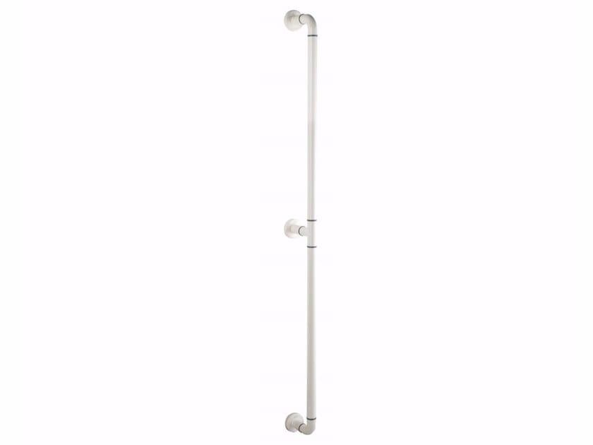 Maniglia di sostegno fissa verticale in alluminio estruso NYLON | Maniglia di sostegno verticale - Saniline by Thermomat