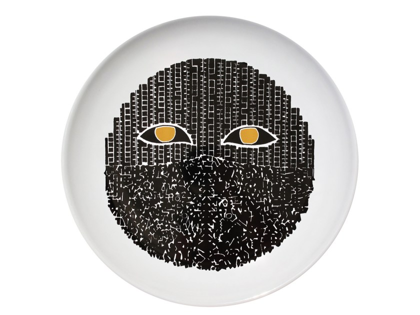 Ceramic dinner plate VERTIGO - Kiasmo