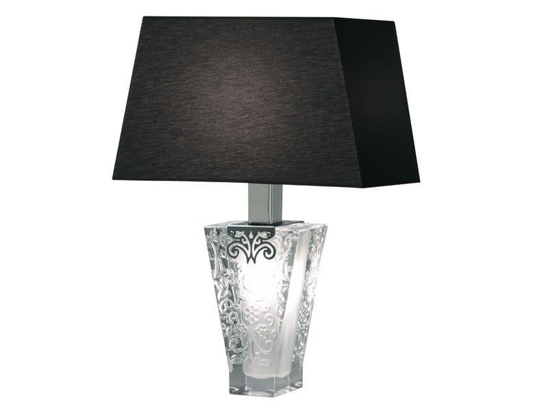 Crystal table lamp VICKY | Table lamp - Fabbian