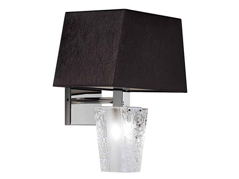 Crystal wall light VICKY | Wall lamp - Fabbian