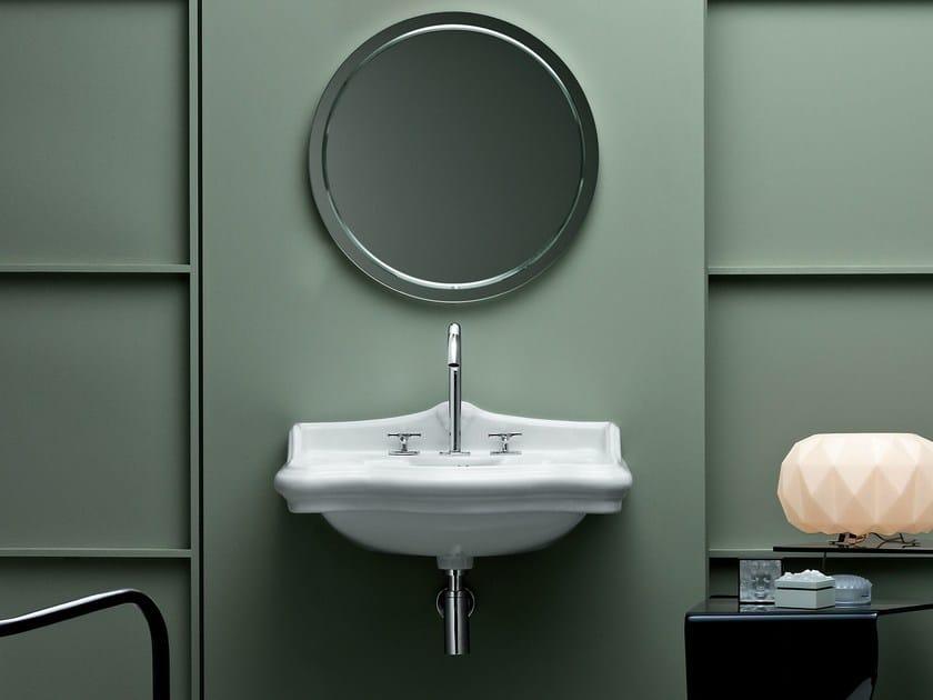 Wall-mounted ceramic washbasin VICTORIAN STYLE   Wall-mounted washbasin by AZZURRA sanitari