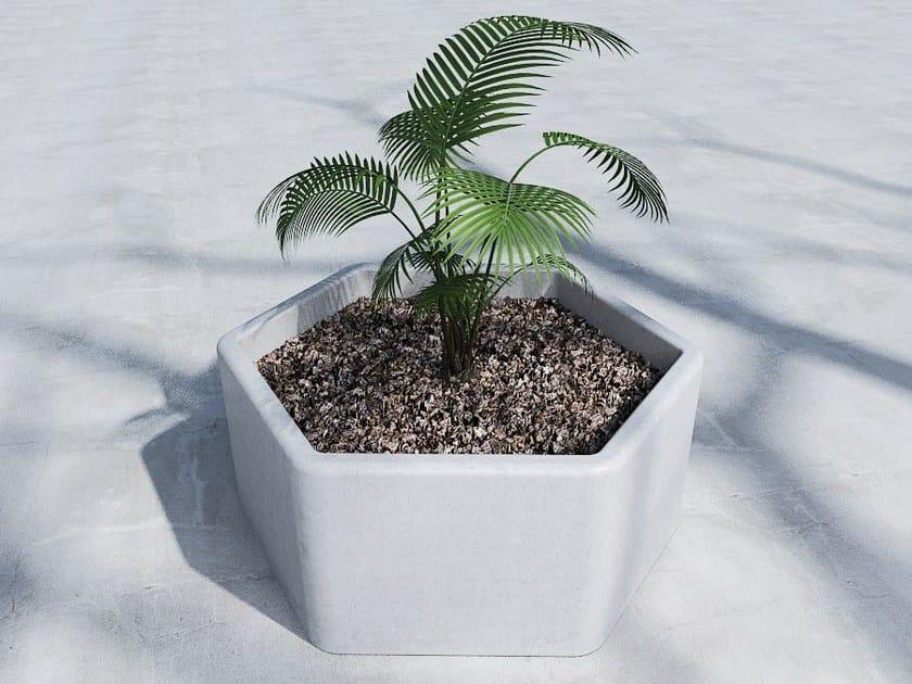 Low Flower pot EXAGON - SIT
