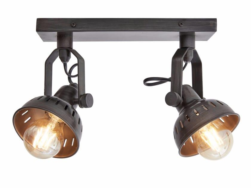 Adjustable iron wall lamp VINTAGE ADJUSTABLE SWIVEL - DOUBLE by Industville