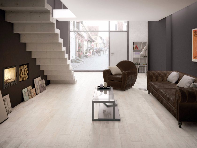 Full-body porcelain stoneware flooring with wood effect VINTAGE - Ceramiche Marca Corona