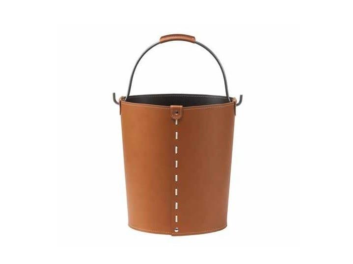 Bonded leather storage box VINTAGE by LIMAC design FIRESTYLE