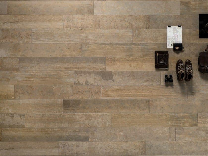Porcelain stoneware wall/floor tiles with wood effect VINTAGE OCRA - ASTOR CERAMICHE