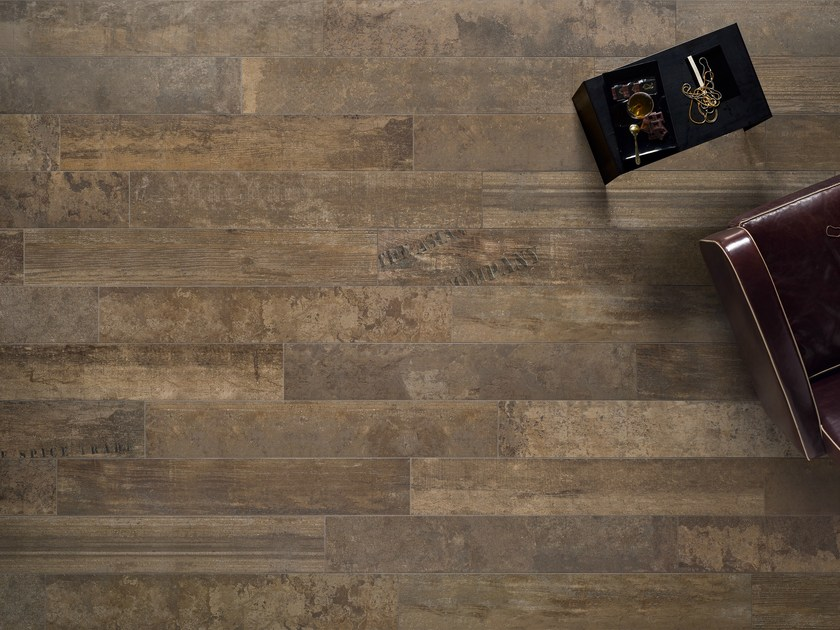 Porcelain stoneware wall/floor tiles with wood effect VINTAGE RUGGINE - ASTOR CERAMICHE