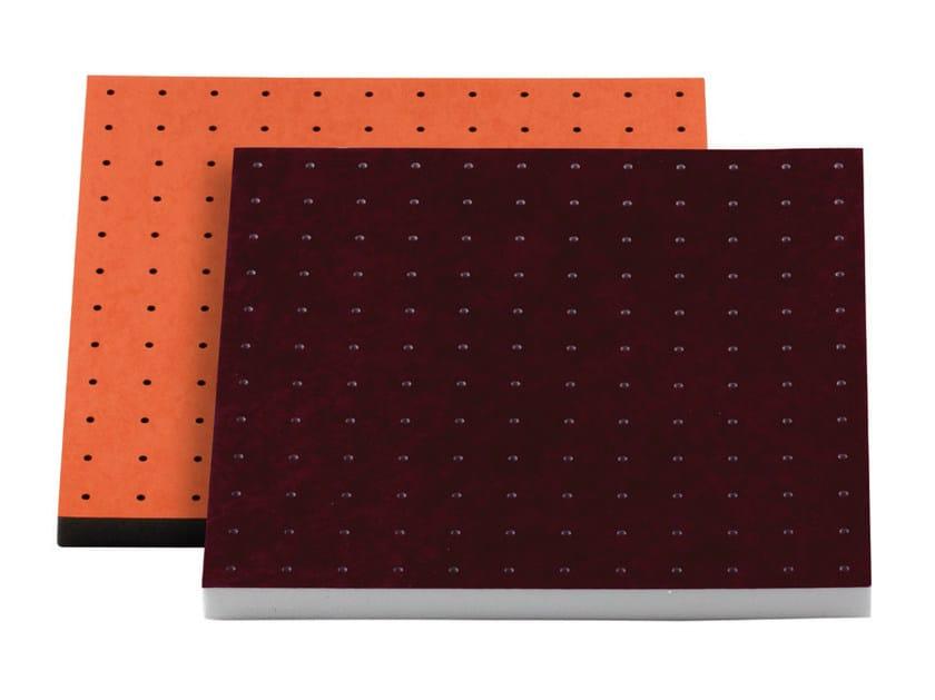 Fabric decorative acoustical panels VISQUARE PRO 60.4 - Vicoustic by Exhibo