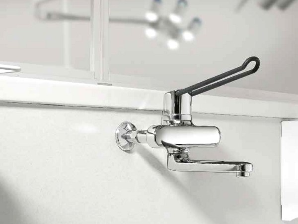 2 hole wall-mounted washbasin mixer KWC VITA PRO | Wall-mounted washbasin mixer by KWC