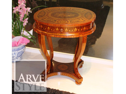 Oval solid wood coffee table VIVRE LUX | Oval coffee table - Arvestyle