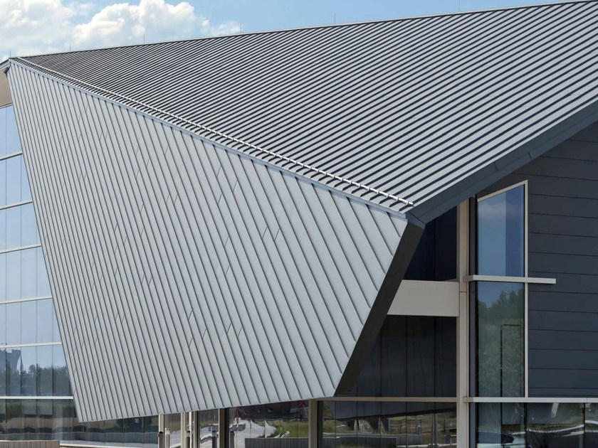 Metal sheet and panel for roof VMZ DOPPIA AGGRAFFATURA - UMICORE BUILDING PRODUCTS ITALIA