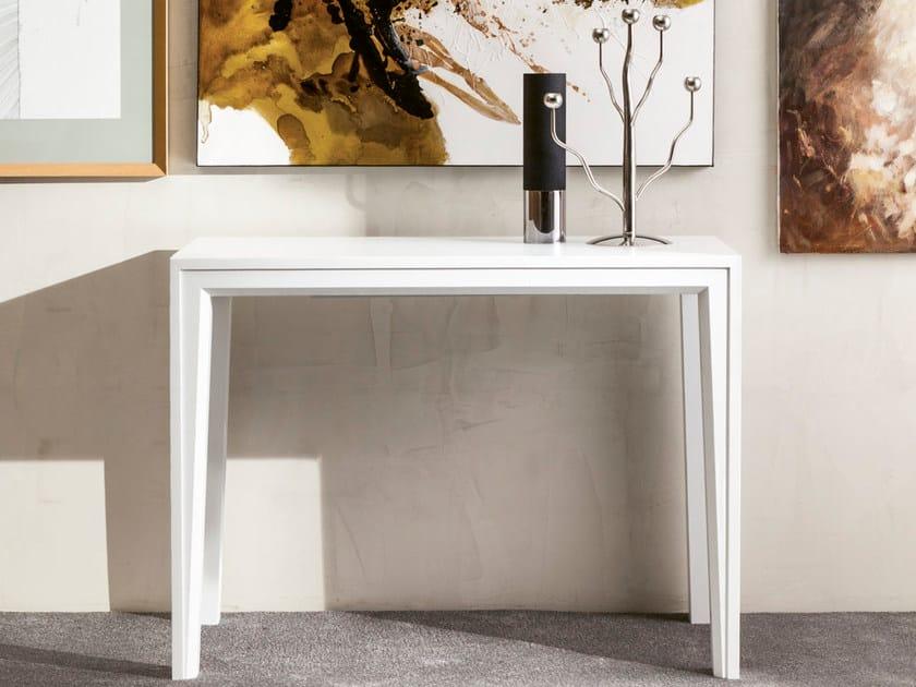 Extending rectangular console table VOILA' - Pacini & Cappellini