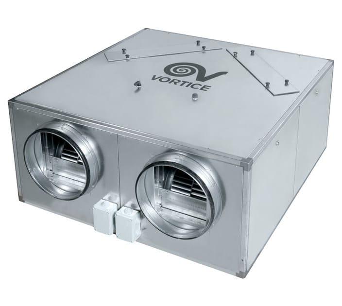 Scambiatore d 39 aria a flussi incrociati per recupero calore - Scambiatore di aria ...