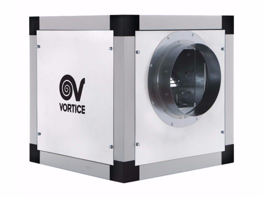 Mechanical forced ventilation system VORT QBK COMFORT ES 9/9 by Vortice