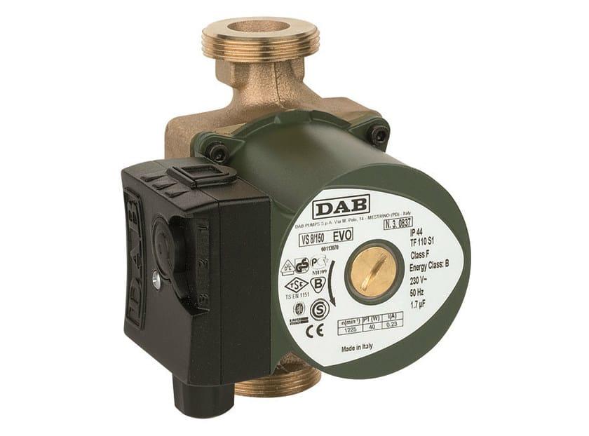 Wet rotor circulators VS by Dab Pumps