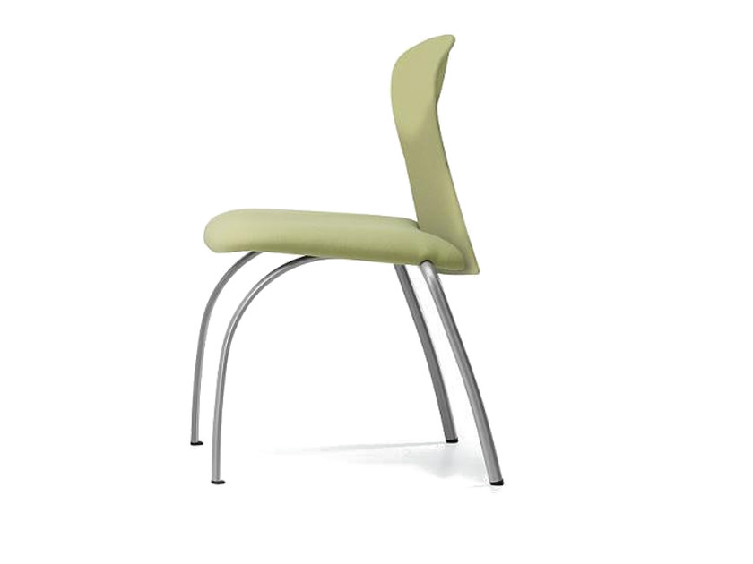 Upholstered fabric reception chair VULCAN 1270 Z - TALIN