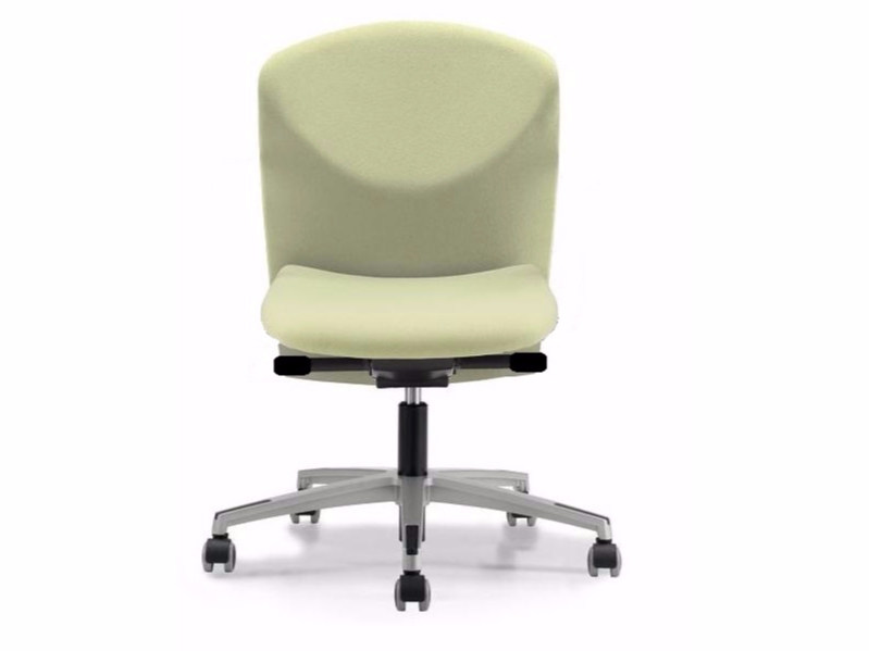 Fabric task chair with 5-Spoke base with casters VULCAN 1412 Z - TALIN