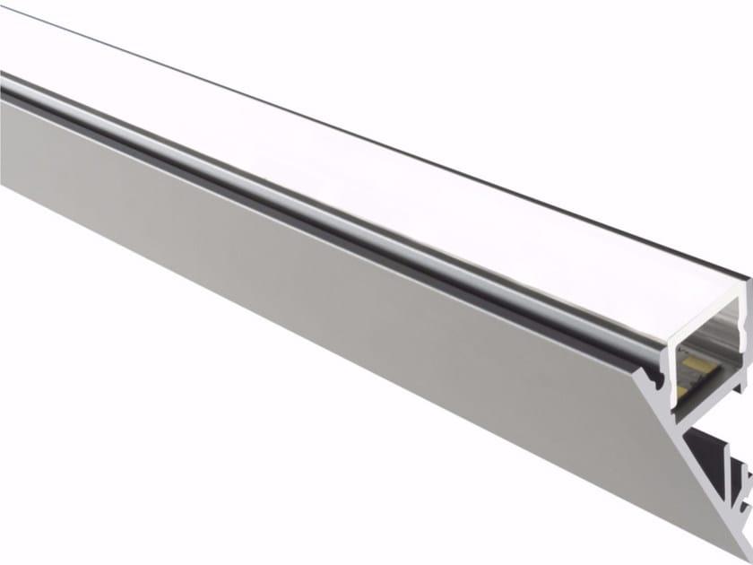 Ceiling mounted aluminium lighting profile for LED modules WALL - GLIP by S.I.L.E