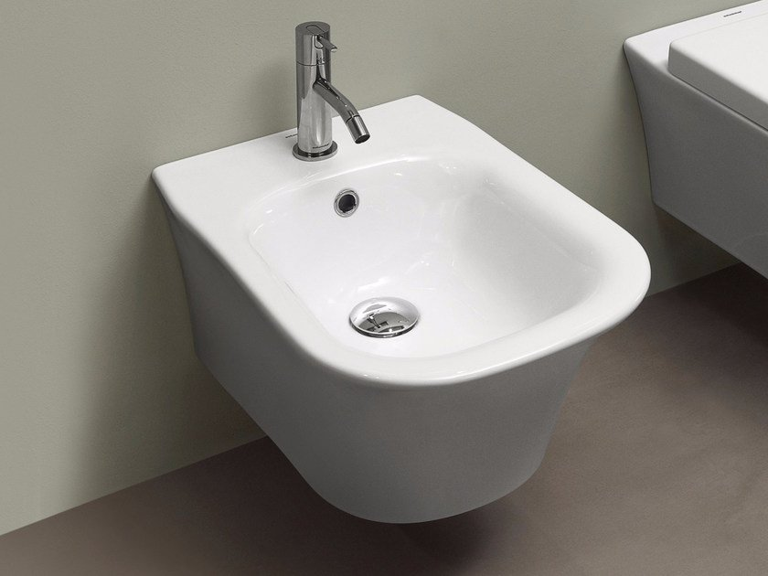 Wall-hung ceramic bidet CABO | Wall-hung bidet - Antonio Lupi Design®