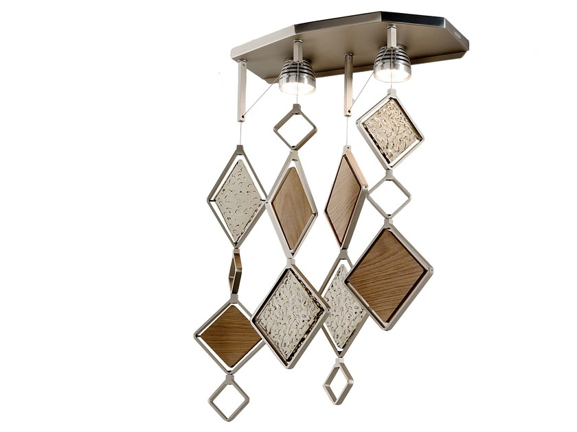 Direct light metal wall lamp QUADRIE | Wall lamp - IDL EXPORT
