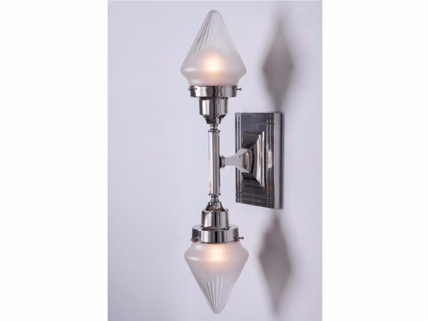 Direct light handmade nickel wall lamp NEW YORK V | Wall lamp - Patinas Lighting