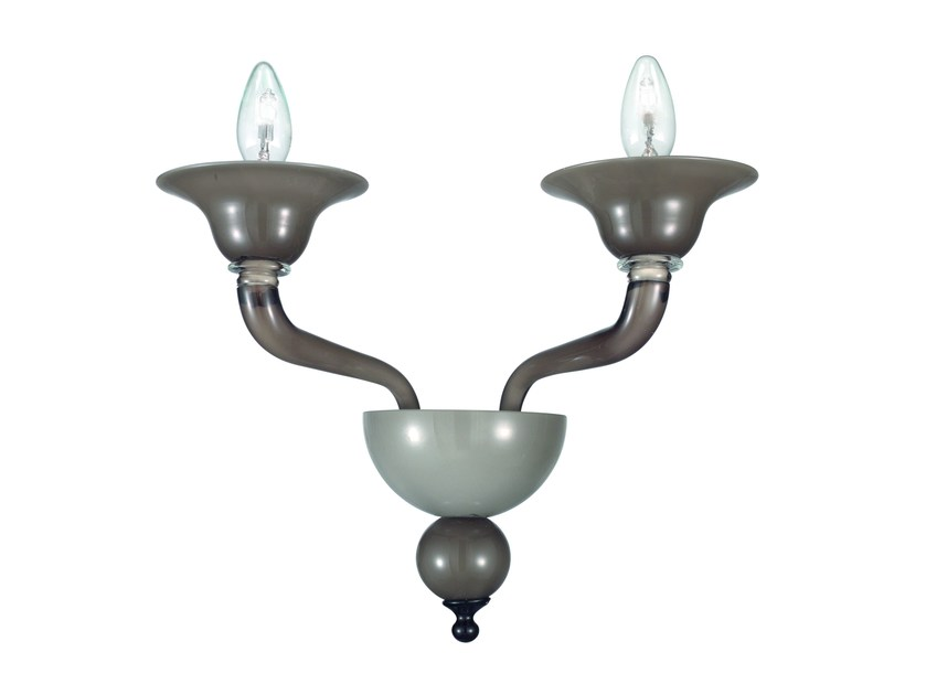 Murano glass wall lamp MACBETH | Wall lamp - ROSSINI ILLUMINAZIONE