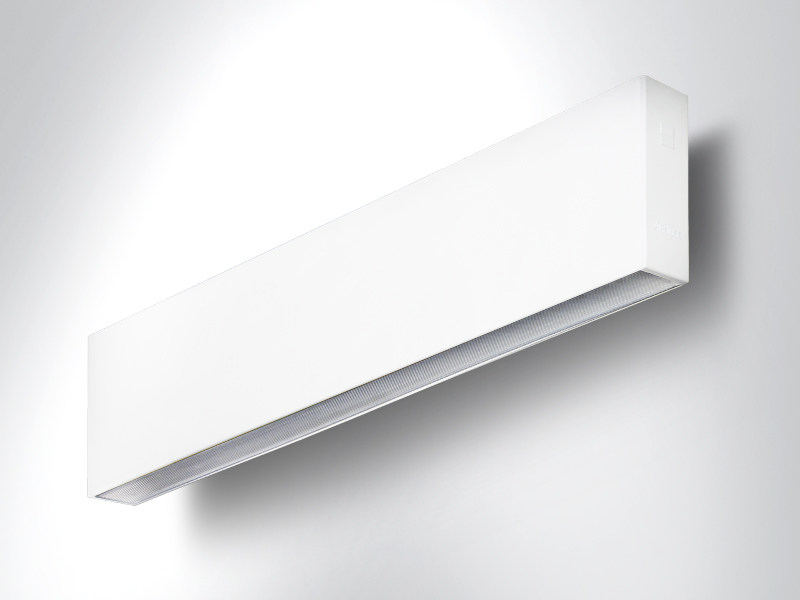 LED extruded aluminium wall lamp RIGO | Wall lamp - Arcluce
