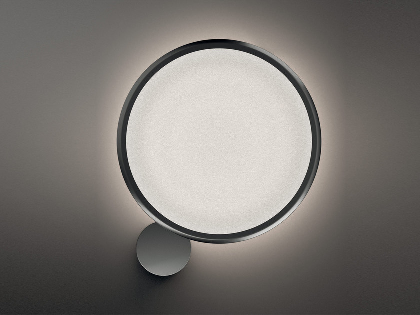 LED direct-indirect light aluminium wall light DISCOVERY | Wall light - Artemide