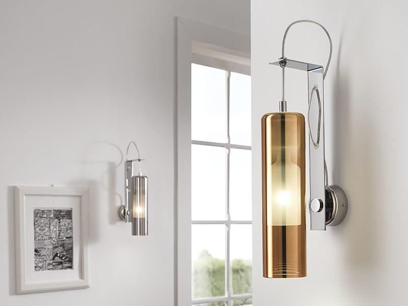 Applique a LED a luce diretta in vetro soffiato TAO | Applique - Cangini & Tucci